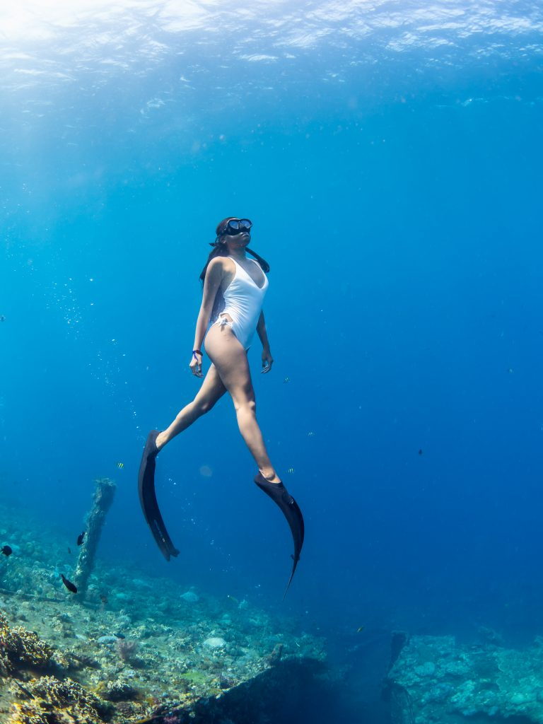 freediving photography, bali freediving, underwater photography