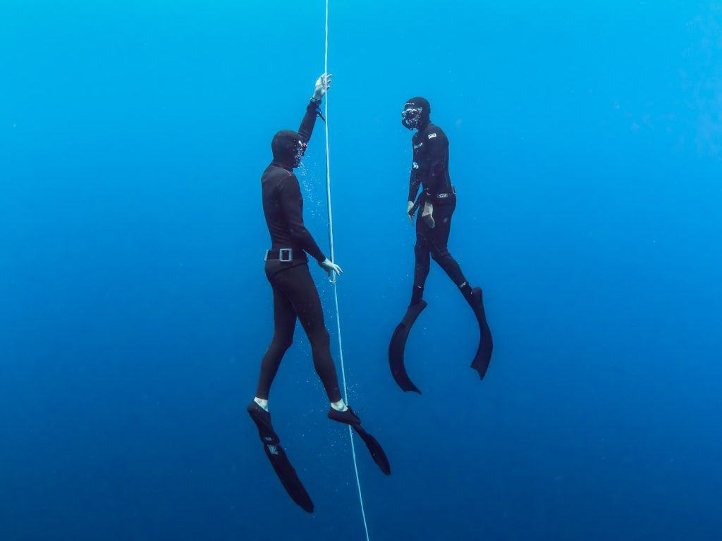 Freediving course in Amed Bali